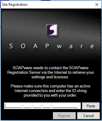 Site Registration