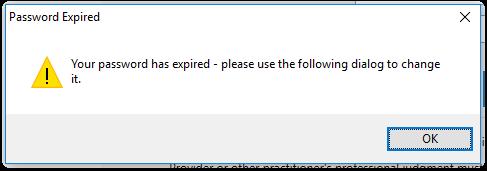 Change SOAPware Password