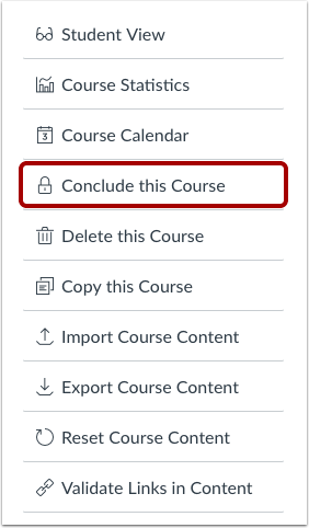 Conclude This Course