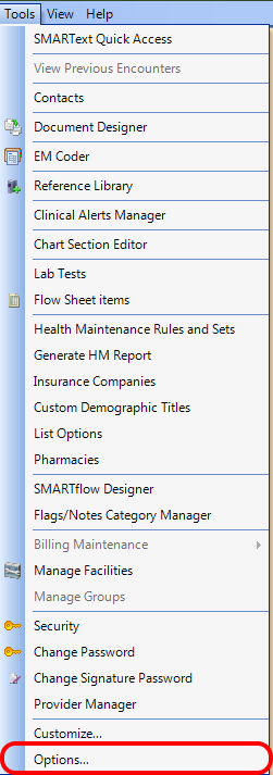 Step 4: Set Up Structured Rx Options