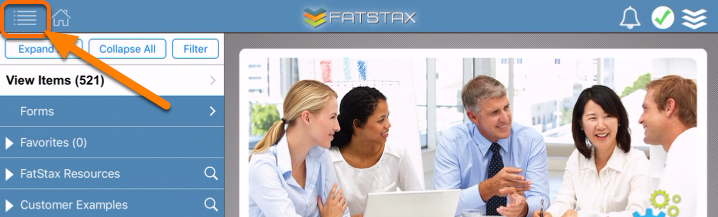 Update the User Password in FatStax.