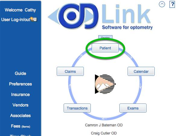OD Link Home Page