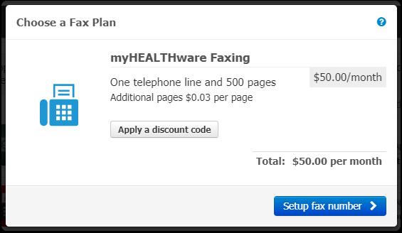 3. Choose a Fax Plan