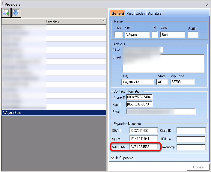 Validate Provider Manager Data