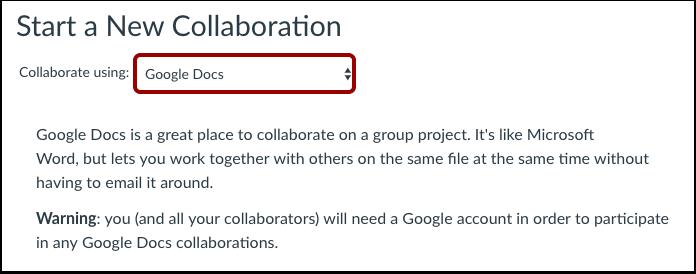 Samarbeta genom att använda Google Docs