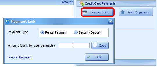 Send a link to the guest to make an online payment