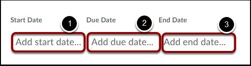 Set Dates