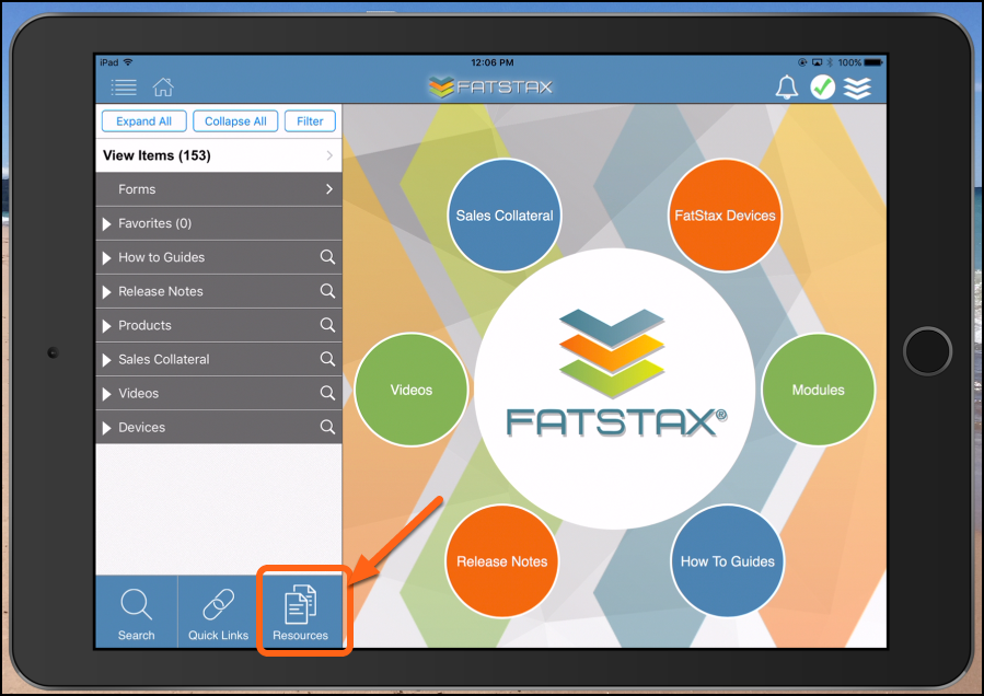 See Resources in FatStax