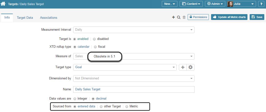 Designate the Target Data Source