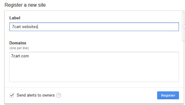 Step 1: Register your site with Google reCAPTCHA