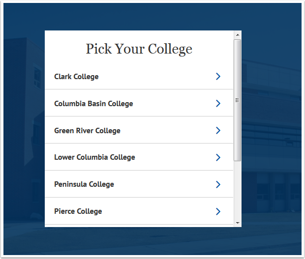 Pick Your College