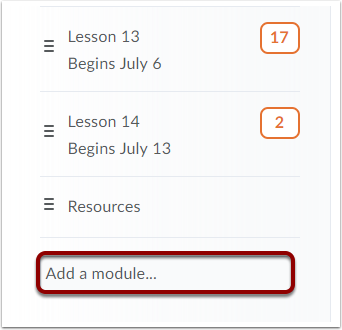 How to Add Sub-Modules Option 2