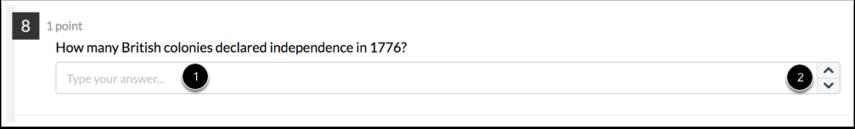 Numeric Question