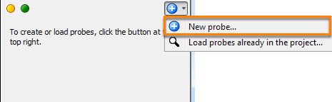 Create a new probe