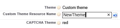 Enter your new Custom Theme name