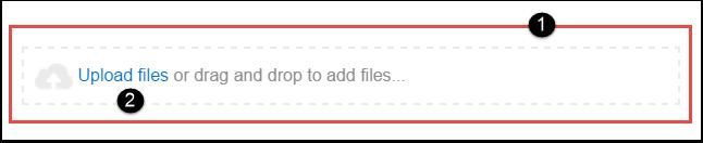 Options for Uploading Files