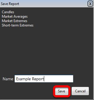 Enter a name and click Save.