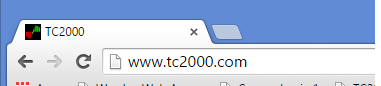 1. Go to www.tc2000.com in your web browser.