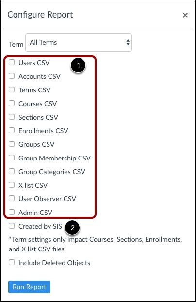 Selecionar arquivos CSV