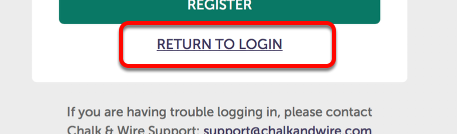 Step 4: Return to Login