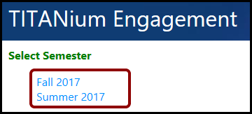 TITANium Engagement semesters.