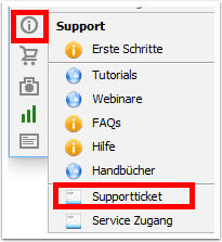 Supporttickets