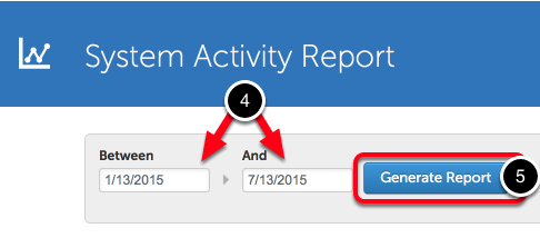 Step 2: Generate Report