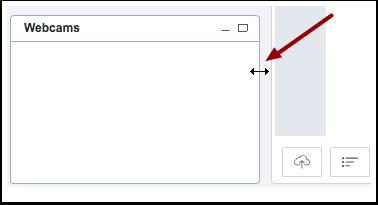 Redimensionar janela da conferência (Resize Conference Windows)