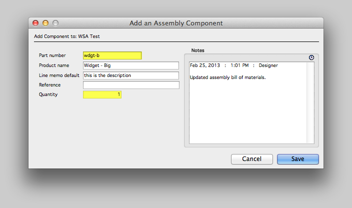 Add an Assembly Component