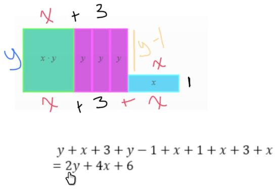 Algebra Tiles: Combining Like Terms Part 3