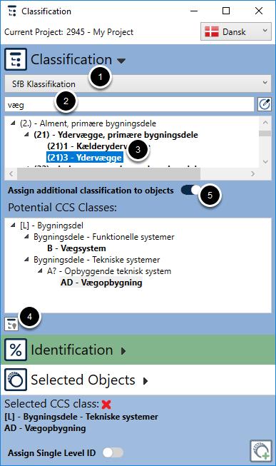 Add Additional classification standards