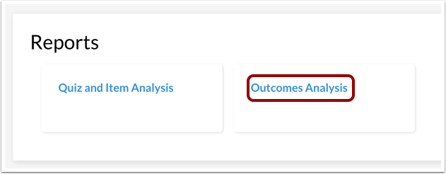 Open Outcomes Analysis