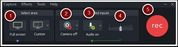 Configure Camtasia's options
