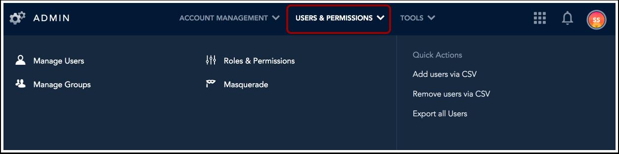Afficher les utilisateurs et les groupes