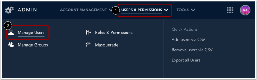 Open User Management
