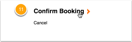 Click Confirm Booking