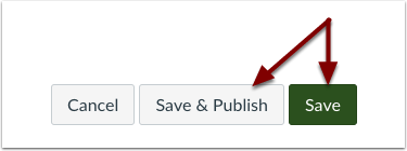Hit save or save and publish.