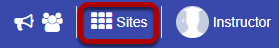 Or, go to Sites.