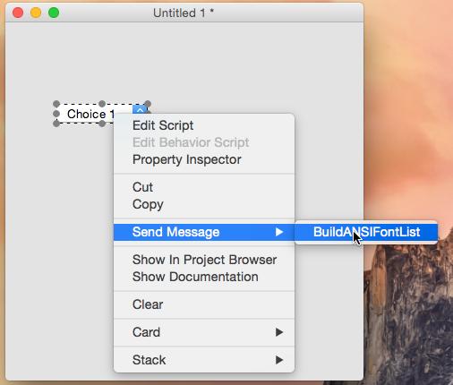 Build Font List