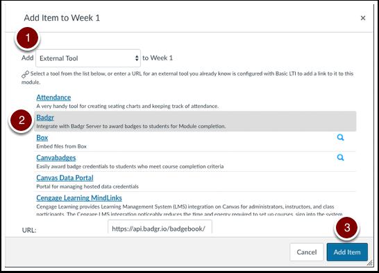 Add external tool as new module