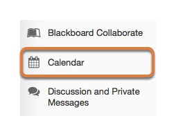 Select the Calendar tool in the tools menu in your site.
