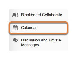 To access this tool, select Schedule from the Tool Menu of your site.