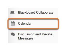 Select the Calendar tool.