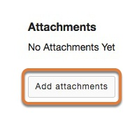 Add attachments