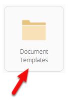 Click Document Templates
