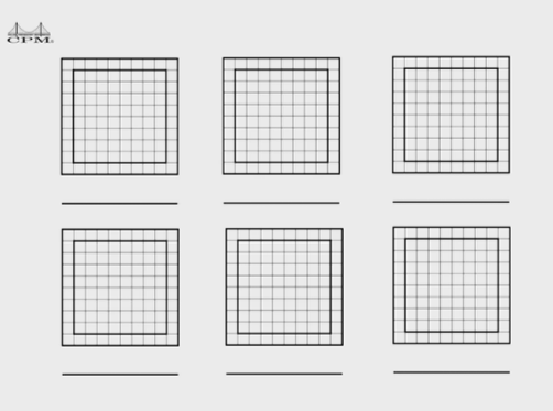 This video shows a variety of methods students may have used to calculate the number of tiles in a frame.  The list is NOT complete!  Students may come up with additional methods.