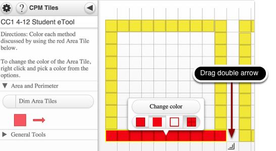 Area Tiles