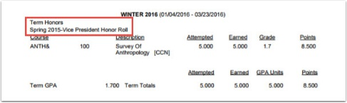 Before Enrollment Report Example