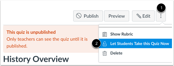 Unlock Quiz