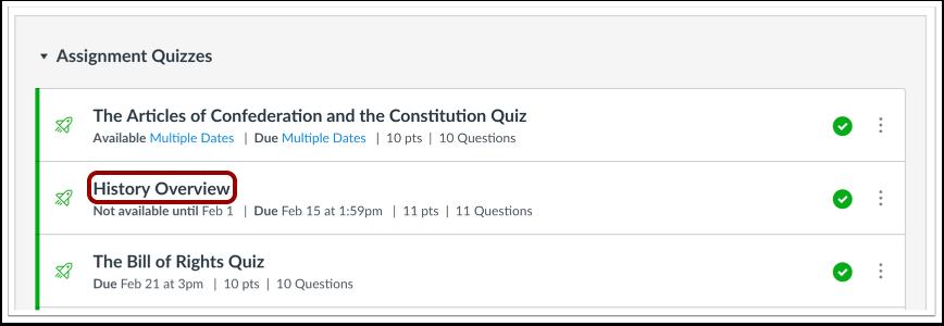 Open Quiz